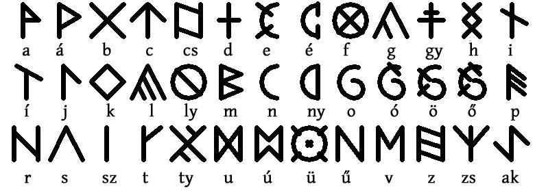 Weird letters?