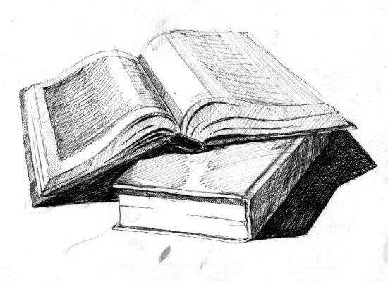 книги картинки рисунки