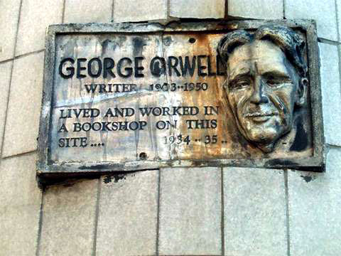 george orwell bookshop memories