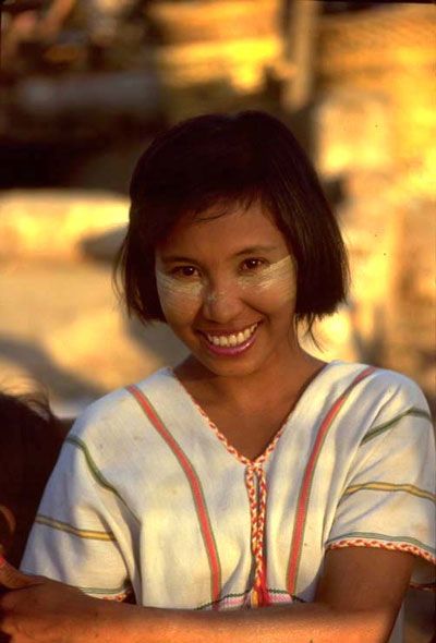 ['Burmese girl' - The photo of Randal Jeter]