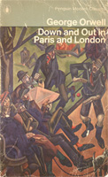 [Down and Out in Paris and London - Cover page]