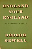 [England, Your England and Other Essays - Cover page]