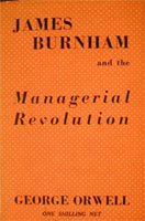 [James Burnham and the Managerial Revolution - Cover page]