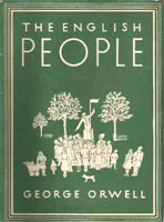 [The English People - Cover page]